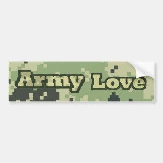 Armee-Liebe Autoaufkleber
