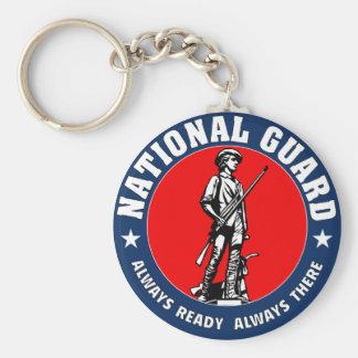 Armee-Nationalgarde-Militär-Logo Schlüsselanhänger