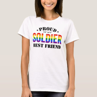 Armee-Soldat-bester Freund-Gay T-Shirt