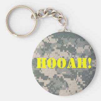 Armee-Tarnung Klimaanlage-Muster Schlüsselanhänger