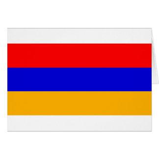 Armenien-Flagge Karte