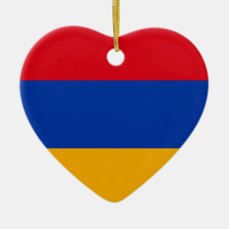 Armenien-Flagge Keramik Ornament