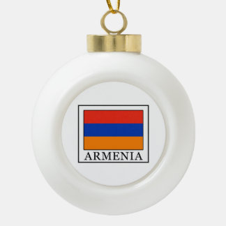 Armenien Keramik Kugel-Ornament
