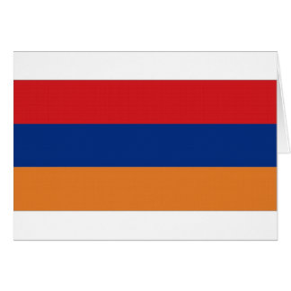 Armenien-Staatsflagge Karte