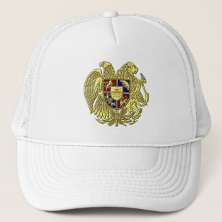 Armenien-Wappen Juwel-Töne Truckerkappe