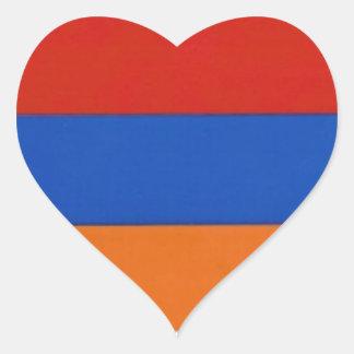 Armenische Aufkleber des Herz-|