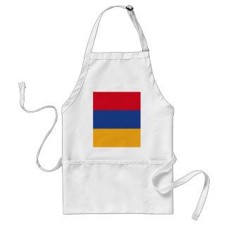 Armenische Flagge Schürze