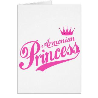 Armenische Prinzessin Karte