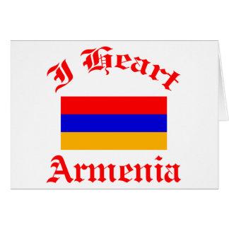 Armenischer Entwurf Karte
