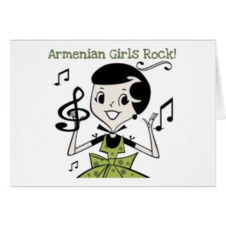 Armenischer Mädchen-Felsen Karte
