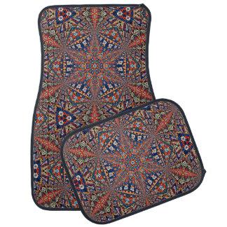 Armenisches Entwurfs-Set von 4 Auto-Matten Automatte