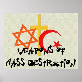 Armes de destruction massive posters