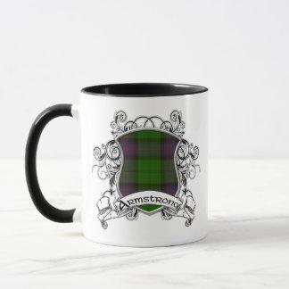 Armstrongtartan-Schild Tasse