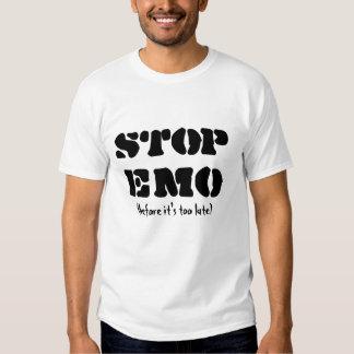 ARRÊTEZ EMO T SHIRTS