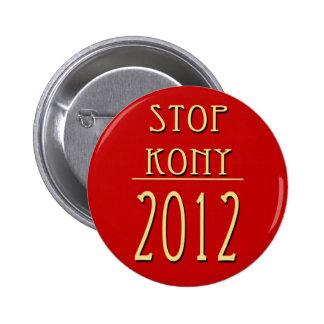Arrêtez Kony 2012 Badge Rond 5 Cm