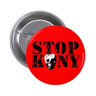 Arrêtez Kony Badge Avec Épingle