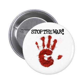 arrêtez la guerre badges