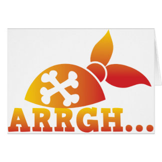 arrgh… PRATE Skorbut ich hearties Hut! Karte