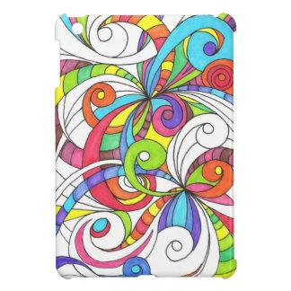 arrière - plan abstrait floral de mini cas d'iPad Coques iPad Mini