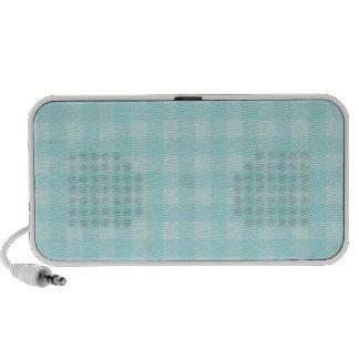 Arrière - plan Checkered de motif de rétro guingan Haut-parleurs Notebook
