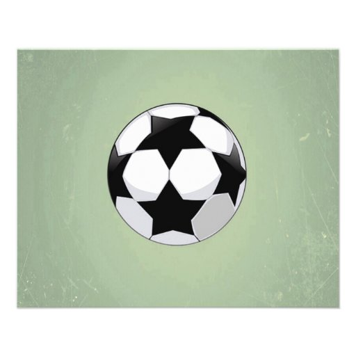 Arrière - plan de cru de ballon de football et de tract customisé