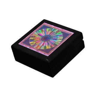 Art101 Chakra Mandala-Heiler durch Reiki Meister Kleine Quadratische Schatulle