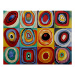 Art abstrait de Kandinsky Posters