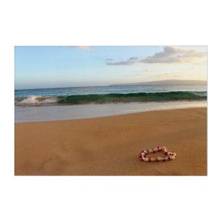 "Art acrylique hawaïen 30"" de Lei x 20"""