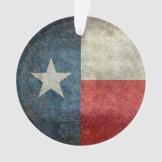 Art-Baumverzierung der Texas-Staatsflagge Vintage Ornament