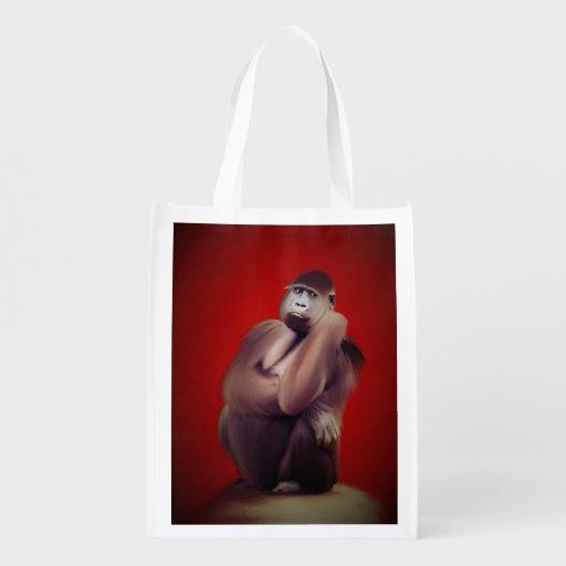 Art de gorille sac d'épicerie