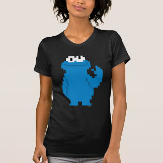 Art de pixel de monstre de biscuit tshirts