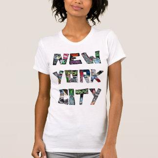 Art de rue de New York City T-shirt