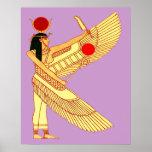 Art égyptien de mur posters
