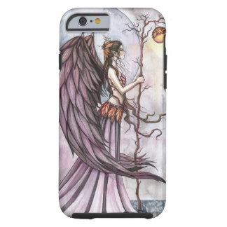 Art gothique léger de fée d'imaginaire d'automne coque iPhone 6 tough