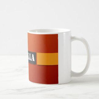 Art: Klassische weiße Tasse