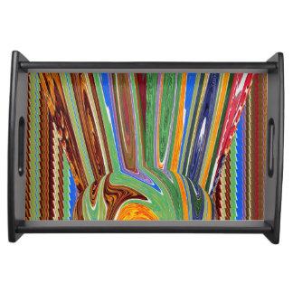 Art Kunstsammlung NavinJoshi abstrakter Spaß Tablett