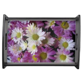 Art Kunstsammlung NavinJoshi Blumenmuster Tablett