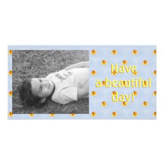 Art minuscule de pixel de jonquilles photocartes