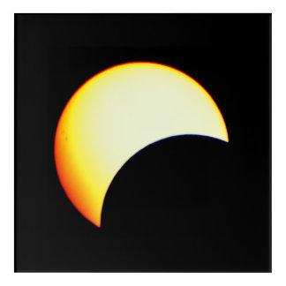 Art Mural En Acrylique Bourdonnement sur une éclipse solaire
