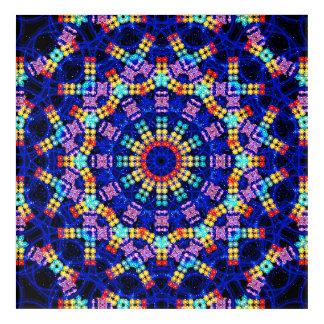Art Mural En Acrylique Mandala de Chakras