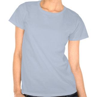 art numérique de fille d'Emo de Mlle-ajustement T-shirts