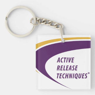 ART® quadratisches Keychain Schlüsselanhänger