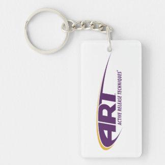 ART® rechteckiges Keychain Schlüsselanhänger