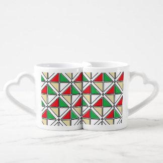 Art réglé de tasse de café par Jennifer Shao