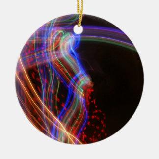 Artemis Kreis-Verzierung durch Künstler C.L. Brown Rundes Keramik Ornament