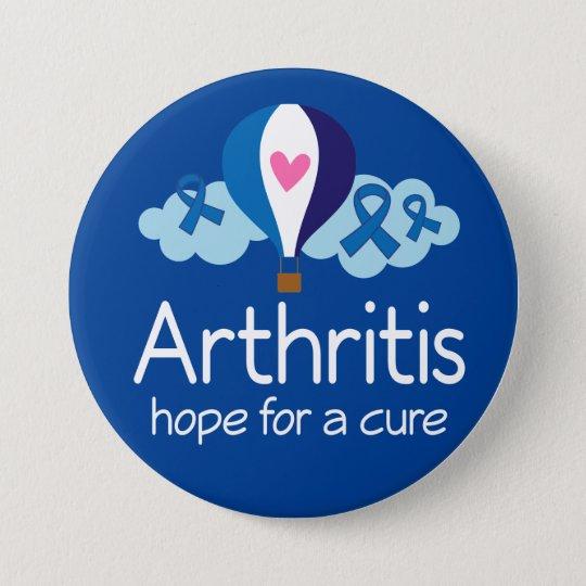 Arthritis-Hoffnung für einen Runder Button 7,6 Cm