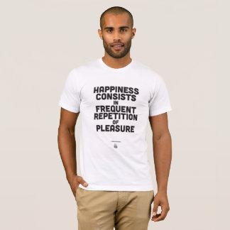 Arthur Schopenhauer - inspirierend Zitat-Plakat T-Shirt