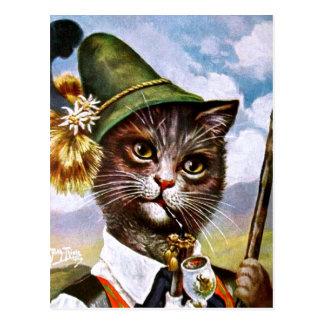 Arthur Thiele - bayerische Alpen-Katze Postkarten