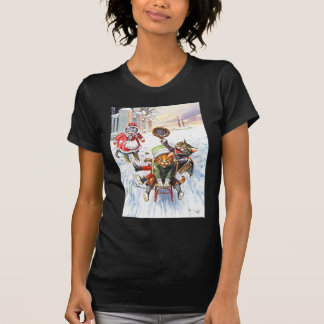Arthur Thiele - Katzen-gehendes abschüssiges T-shirt