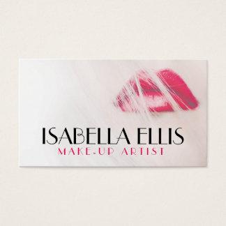 Artiste de maquillage/carte de visite élégants de cartes de visite